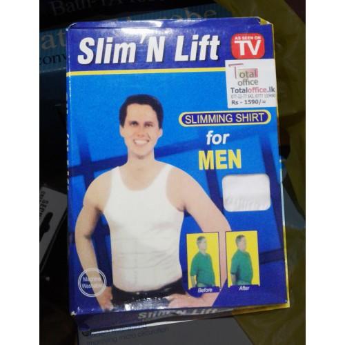db2a77d9c8 Men Slim N Lift Body Shaper Underwear Vest Shirt Corset Compression ...